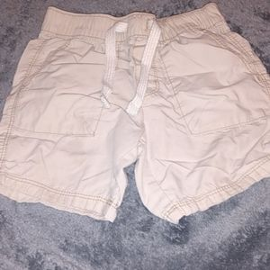 2t boys old Navy khaki draw string shorts
